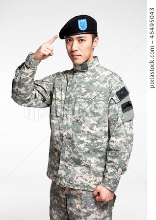 군인,한국인,남자 46495043
