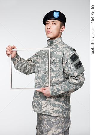 군인,한국인,남자 46495065