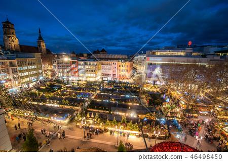 독일 슈투트가르트 크리스마스 마켓 마르크트 광장 46498450