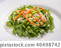 Baby spinach salad 46498742