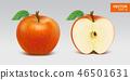 苹果 红色 红 46501631