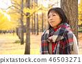 享用秋葉的中間夫人 46503271