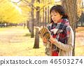 享用秋葉的中間夫人 46503274