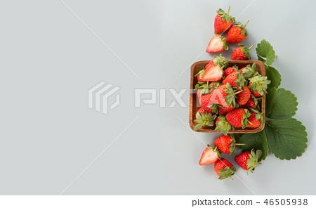 草瓜水水果冬天天堂冬季彩色背景草莓草莓草莓 46505938