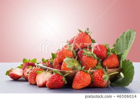 草瓜水水果冬天天堂冬季彩色背景草莓草莓草莓 46506014