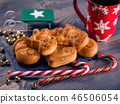 Christmas cookies and sweets closeup 46506054