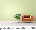 armchair, interior, room 46506788