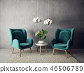 armchair, interior, room 46506789