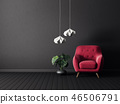 armchair, interior, room 46506791