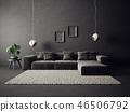 sofa, interior, room 46506792