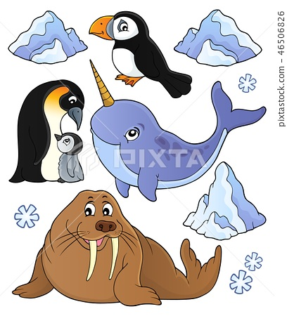 Winter animals topic set 1 46506826