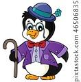 Stylized penguin topic image 1 46506835