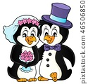 wedding penguin bird 46506850