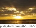 มหาสมุทร,แสงอาทิตย์,แสง เบา 46508022