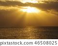 beams of twilight, blue water, marine 46508025