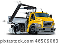 truck car crane 46509063