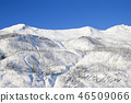 Winter landscape with mountains and trees in The Bugaboos, Purcell Mountains, Bugaboo Provincial 46509066