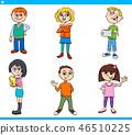 boy, girl, child 46510225
