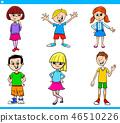 boy, girl, child 46510226