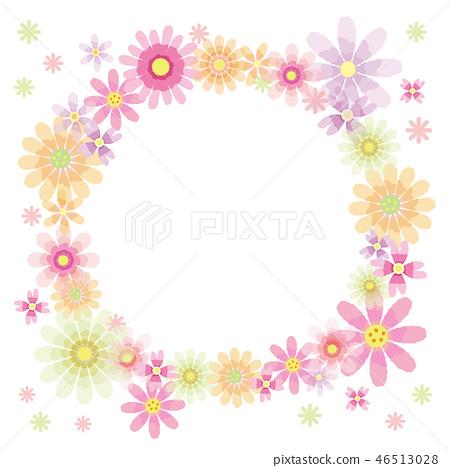 กรอบดอกไม้ 46513028