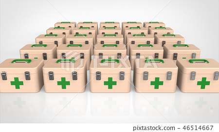 First aid kit green multiple 46514667