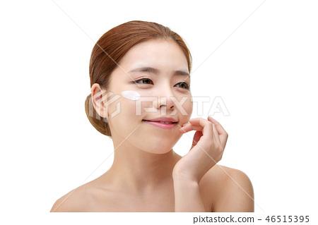 여성, 여자, 스킨 케어,뷰티, 한국인 46515395