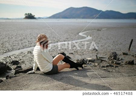 해변의여인!,바다를바라보다, 46517488