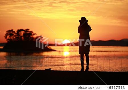 해변의여인!,바다를바라보다, 46517518