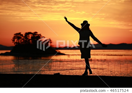 해변의여인!,바다를바라보다, 46517524