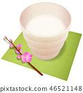 Sweet sake peach flower 46521148