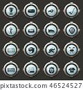set, hockey, vector 46524527