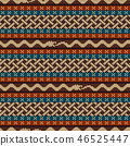 Knitted pattern with elements of the Celtic knot 46525447