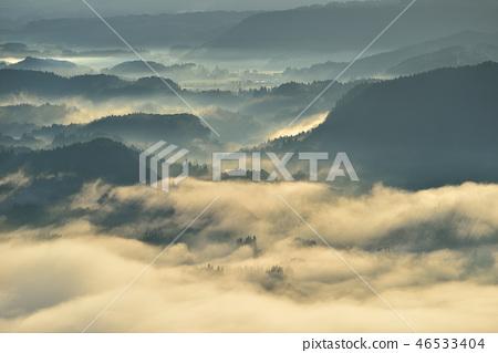 在Kukuto盆地的雲海 46533404