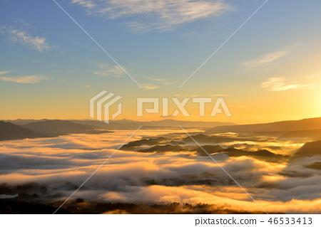 The sea of clouds in Kukuto basin 46533413