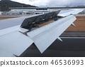 Landing Hiroshima Airport 46536993