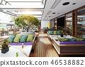 terrace restaurant interior 46538882