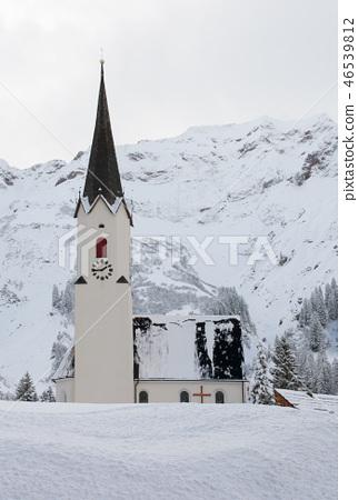 Church in the Snow, Austria 46539812