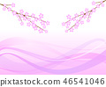 Cherry blossoms flow wind 46541046