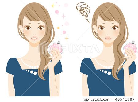 향기에 고민하는 여성주의 香害 문제 46541987