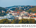 Aerial view of old town in Prague, Czech republic 46543220
