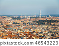 Aerial view of old town in Prague, Czech republic 46543223