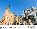 Fountain of the Neptune. Gdansk, Poland 46543229