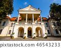 Zamoyski Palace in Kozlowka in eastern Poland 46543233