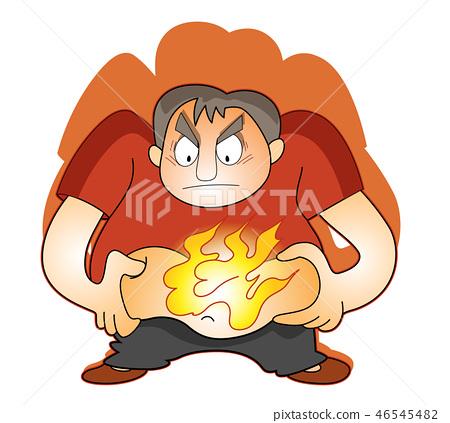 fat burn ilustrare