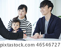 Family meeting insurance home 46546727