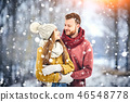 winter, snow, outdoors 46548778