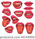 mouth vector tongue 46548966