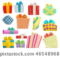 gifts group on white 46548968