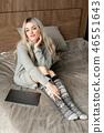 blonde woman aluminum 46551643