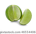 Lime isolated on white background 46554406